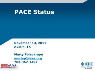 PACE Status