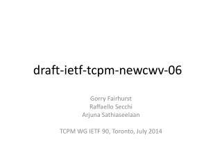 draft-ietf-tcpm-newcwv-06