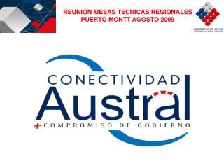 REUNIÓN MESAS TECNICAS REGIONALES PUERTO MONTT AGOSTO 2009