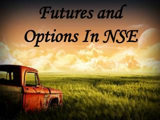 Futures and Options In NSE