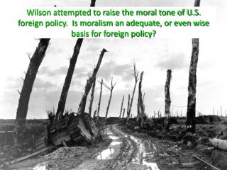 U.S. Entry to World War I