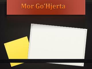 Mor Go'Hjerta