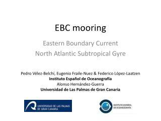 EBC  mooring