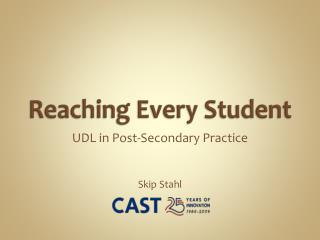 Reaching Every Student