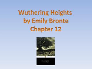 Wuthering Heights  by Emily Bronte Chapter 12