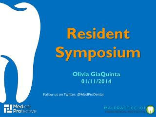 Resident Symposium