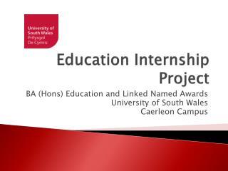 Education Internship Project