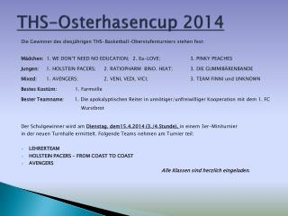 THS-Osterhasencup 2014