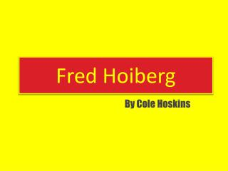 Fred Hoiberg