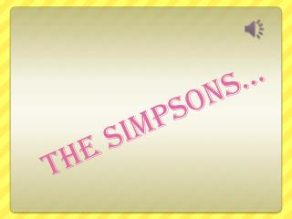 THE  SIMPSONS�