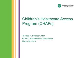Children's Healthcare Access Program (CHAPs)