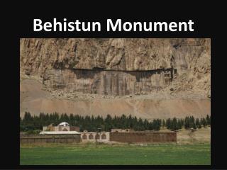 Behistun Monument