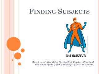 Finding Subjects