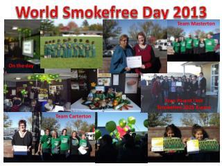World  S mokefree  Day 2013