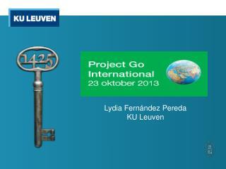 Lydia  F ernández Pereda KU Leuven