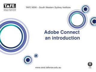 Adobe Connect   an introduction