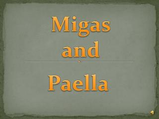 Migas and
