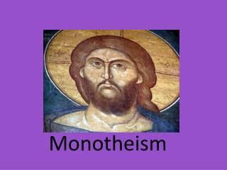 Monotheism