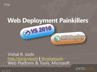 Web Deployment Painkillers