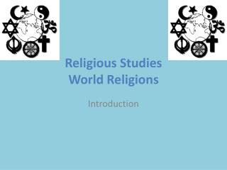 Religious Studies  World Religions