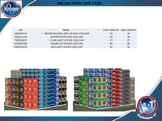 MA  WV-PREM  18PK CANS
