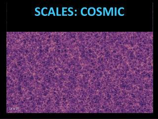 SCALES: COSMIC