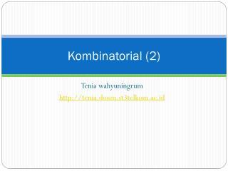 K ombinatorial (2)