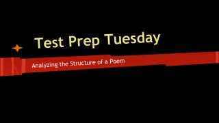 Test Prep Tuesday