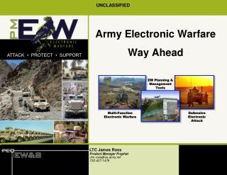 Army Electronic Warfare Way Ahead