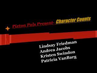 Pixton Pals Present-  Character Counts