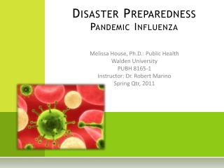 Disaster Preparedness Pandemic Influenza