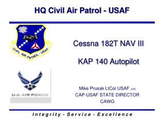 Cessna 182T NAV III KAP 140 Autopilot