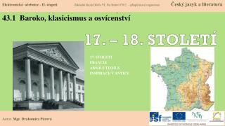 43.1  Baroko, klasicismus a osvícenství