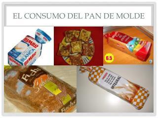 El consumo DEL PAN DE MOLDE