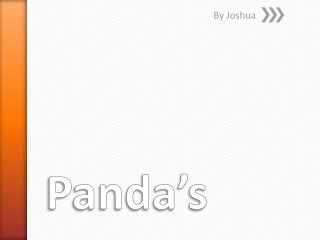 Panda's