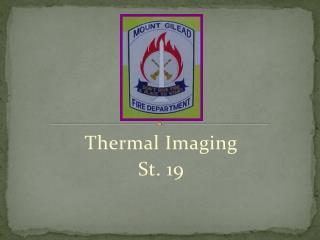 Thermal Imaging  St. 19