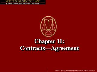 Chapter 11: Contracts Agreement