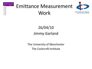 Emittance Measurement Work