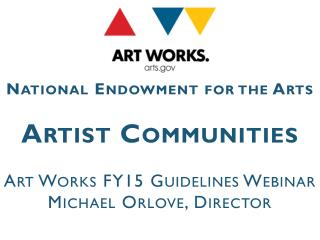 Artist Communities