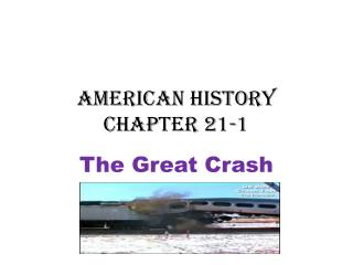 American History Chapter 21-1