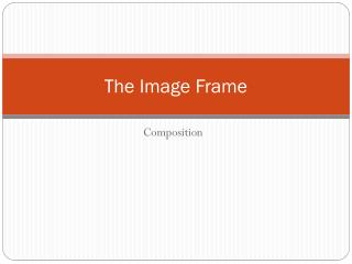 The Image Frame