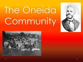 The Oneida Community