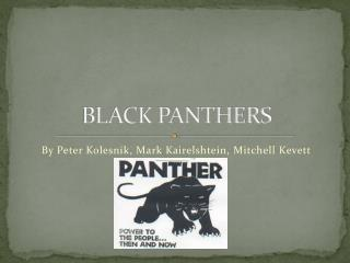 BLACK PANTHERS