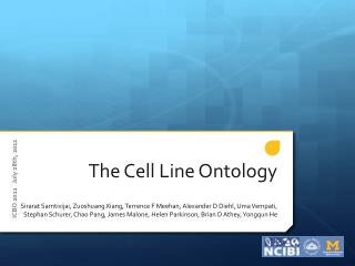 The Cell Line Ontology