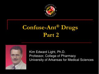 Confuse - Ant Drugs Part 2