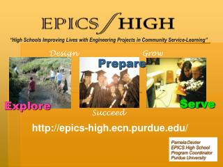 """""""High Schools Improving Lives with Engineering Projects in Community Service-Learning"""""""