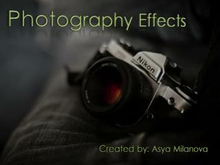 Photography Effects