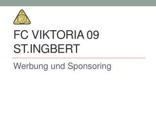 FC Viktoria 09 St.Ingbert
