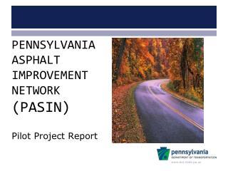 Pilot Project Report