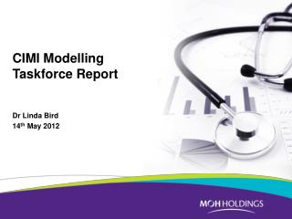 CIMI  Modelling  Taskforce Report